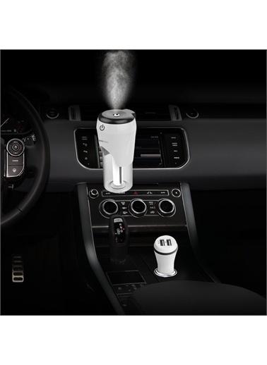 Polo Smart Polosmart Psm53 Araç İçi Hava Nemlendirici + 2 Usb'Li Şarj Cihazı Renkli